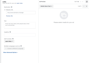 Here's How To Create Your First Facebook Ad