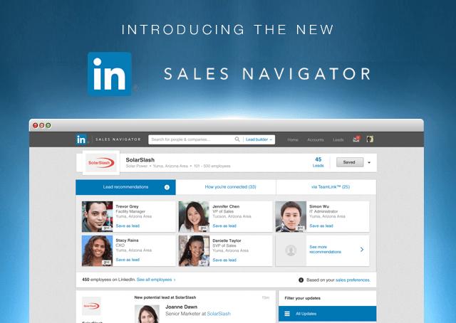 LinkedIn sales navigator for greater success