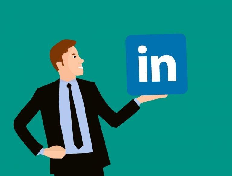 Social media channel LinkedIn